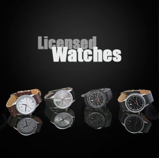 Licensed Watches